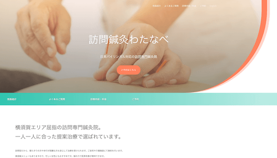 Project Example: Housecall Acupuncture Watanabe